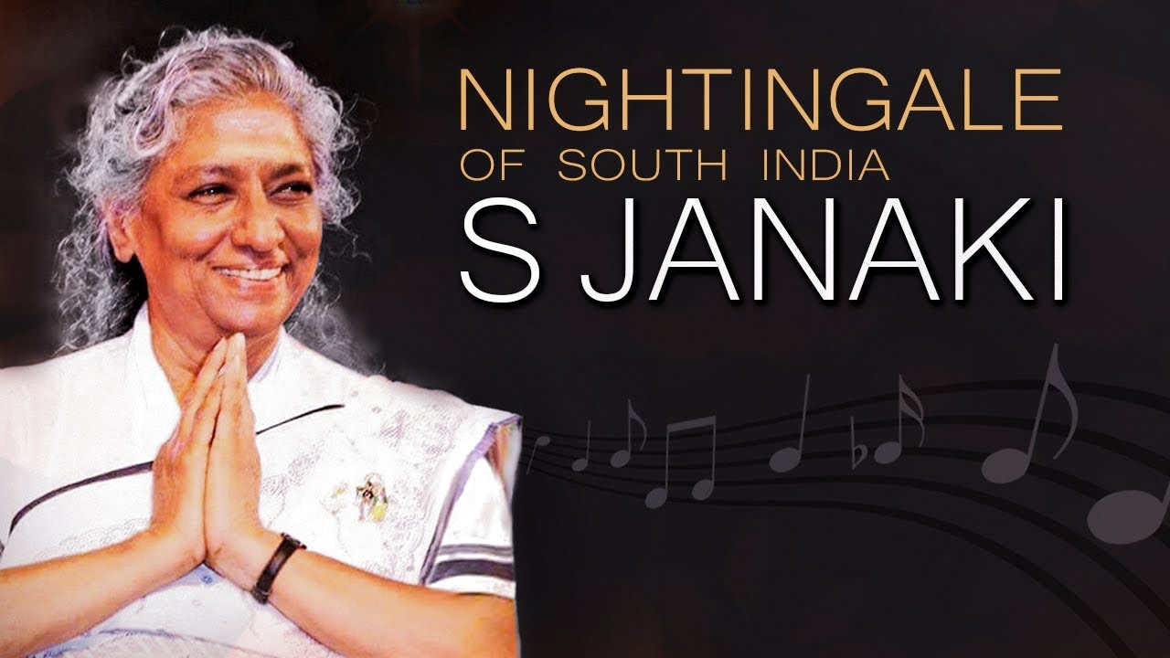 Tribute To S Janaki The Nightingale Of India Youtube