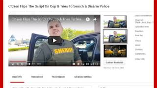 Follow Up Video On Comments Of James Freeman Flips Script On Cops