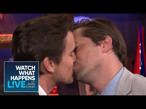 Matt Bomer And Andrew Rannells Get 'Uncomfortably Close'  WWHL
