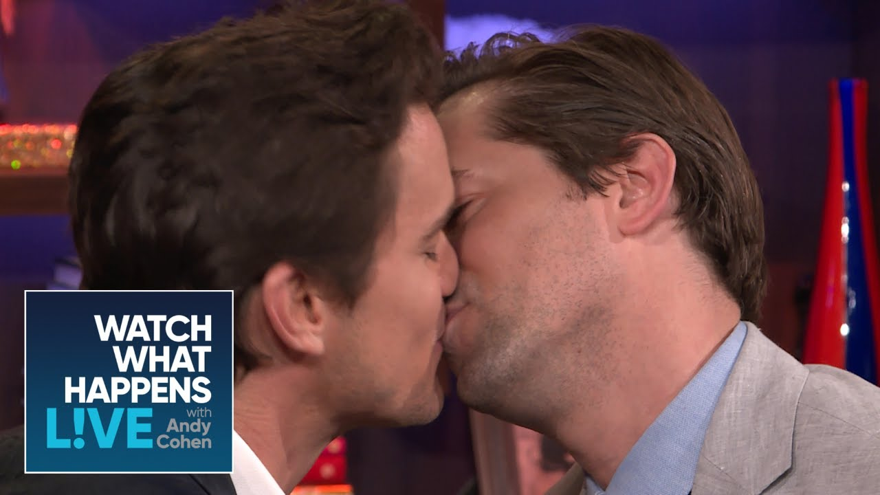 Matt Bomer And Andrew Rannells Get Uncomfortably Close Wwhl