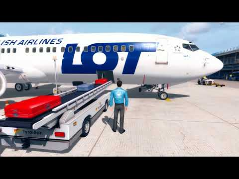 [PREPAR3Dv3] Flight Boeing 737-800 LOT Polish Airlines LOWI (Innsbruck) - EPML (Mielec)