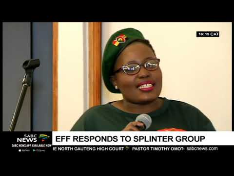 EFF's Vusi Khoza reacts to launch of splinter group, AFCO