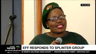 EFF's Vusi Khoza reacts to launch of splinter group, AFCO