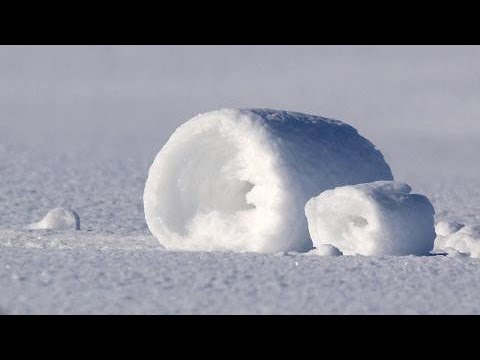 RARE: What Are Snow Rollers And How Do They Form?