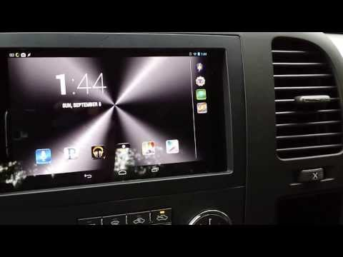 HOW TO: Nexus 7 Dash Mount, Stereo Integration - Part 2