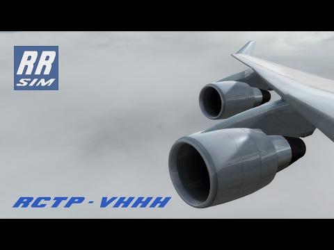 P3d PMDG 747 v3 Taipei - Hong Kong China Airlines