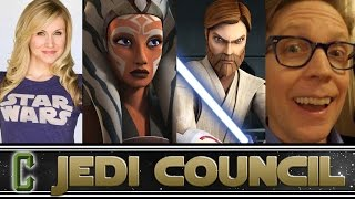 Collider Jedi Council - Guests Ashley Eckstein(Ahsoka Tano) & JA Taylor(Obi Wan Kenobi)