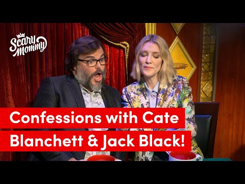 Cate Blanchett and Jack Black Talk Farts And Other Parenting Confessions  Scary Mommy Confessional