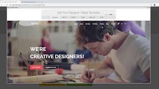 Creación de plantilla en HTML y CSS 03 - Imagen de fondo full pantalla