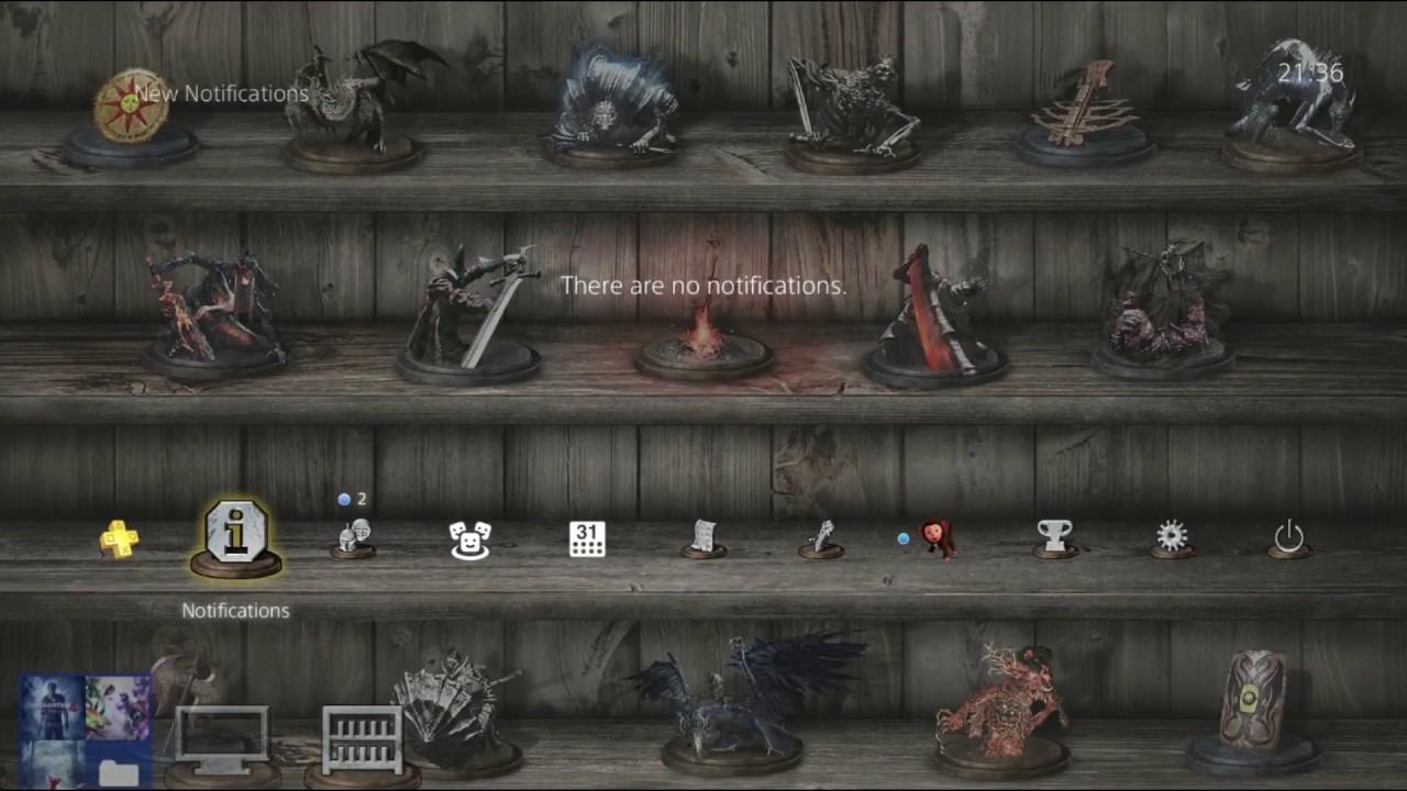 Ps4 Dark Souls 3 Inventory Theme Free On Uk Psn Store Youtube