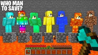 WHICH to SAVE DIAMOND GIRL or RAINBOW GIRL or EMERALD GIRL or GOLD GIRL or WATER GIRL or LAVA GIRL