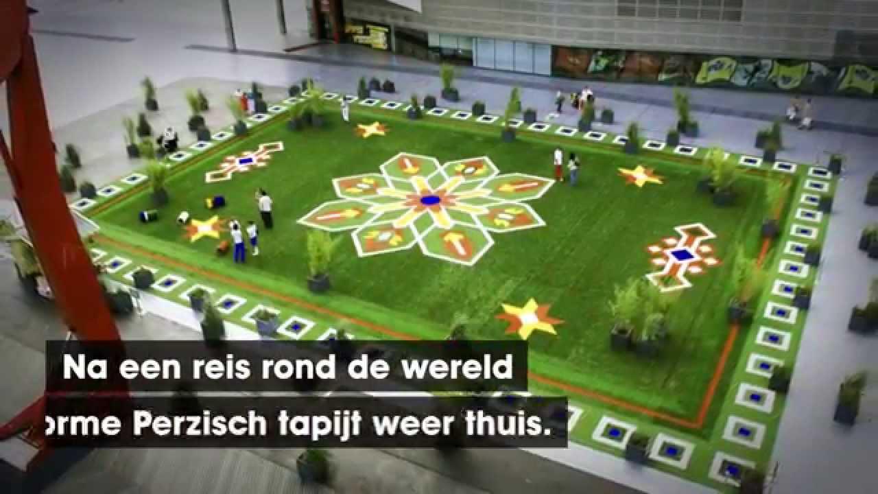 Perzisch Tapijt Rotterdam : Uitagenda rotterdam the flying grass carpet youtube