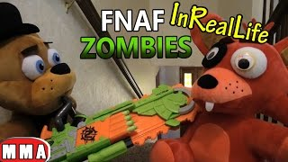 FNAF plush In Real Life - Zombie Apocalypse