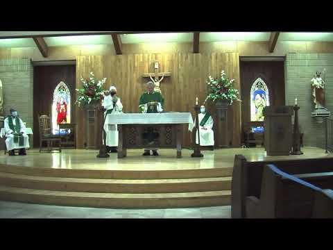 Sacred Heart Catholic Church Morrilton, Arkansas - Mass of the Sixteenth Sunday of Ordinary Time
