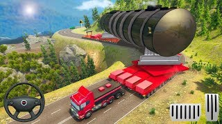Oversized Load Cargo Truck Simulator - Transport Space Ship Cargo Truck - Android Gameplay 2019 screenshot 4