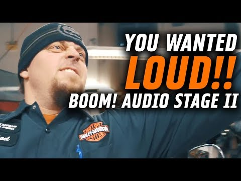 You wanted LOUD...here it is! Boom! Audio Stage II | Shop Talk Episode 3