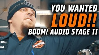 You wanted LOUD...here it is! Boom! Audio Stage II   Shop Talk Episode 3