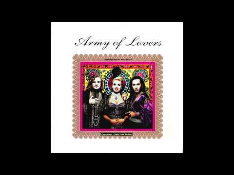 """Army Of Lovers – """"Crucified"""" (Judas mix instrumental) (Giant) 1991"""
