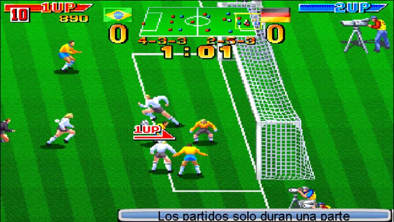 Dream Soccer 94 Arcade Youtube
