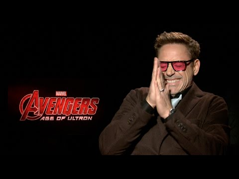 Avengers: Age of Ultron interviews - Downey Jr, Hemsworth, Evans, Spader, Ruffalo, Johansson, Renner