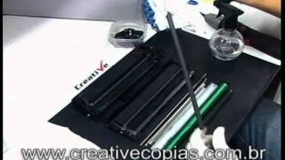 Video Aula Recarga do Toner Samsung ML-1865W, ML1865W, ML1865, Toner D104S