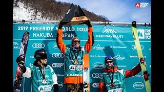 Freeride World Tour, Hakuba 2019, Top 3 Results - Men