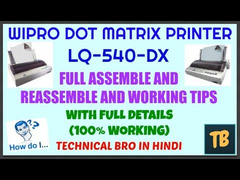 LQ540 PRINTER WINDOWS DRIVER