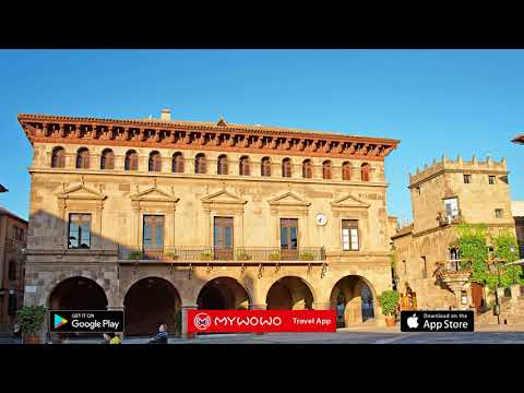 Montjuïc – Spanish Village – Barcelona – Audio Guide – MyWoWo Travel App