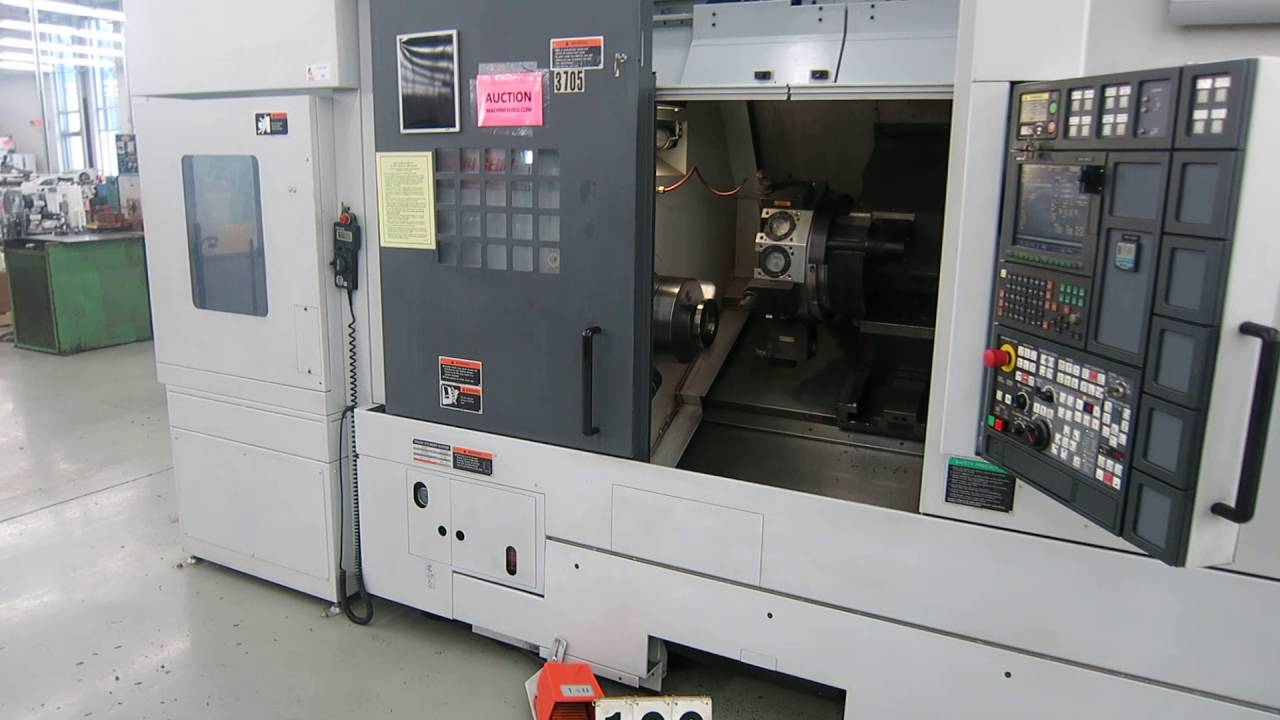 Mori Seiki NL2500 CNC Turning Center with Ganry Load -Online Auction at  www machinesused com