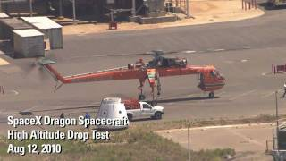 Repeat youtube video SpaceX Testing - Dragon Drop Test (HD)