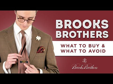 Brooks Brothers: What to Buy & What to Avoid - Brand Value Review
