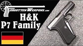 H&K P7 Family: Pistols for Gun Cognoscenti