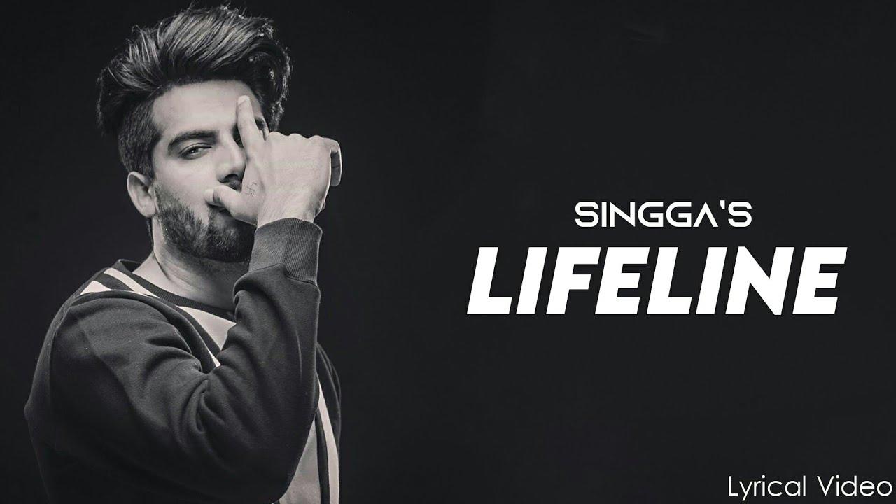 Download Lifeline (Official Video) - Singga   Latest Punjabi Song 2020   lyrical video