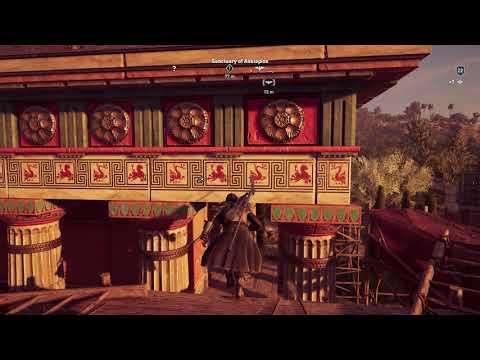 Assassin's Creed Odyssey - Sanctuary of Asklepios Intro: Synchronize Epidauros Sanctuary (2018)