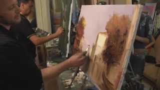 научиться рисовать маслом, живопись маслом для новичков, Сахаров
