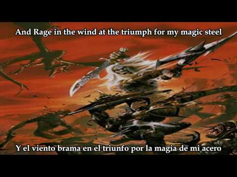 Rhapsody Of Fire Triumph For My Magic Steel Subtitulos en Español y Lyrics(HD)