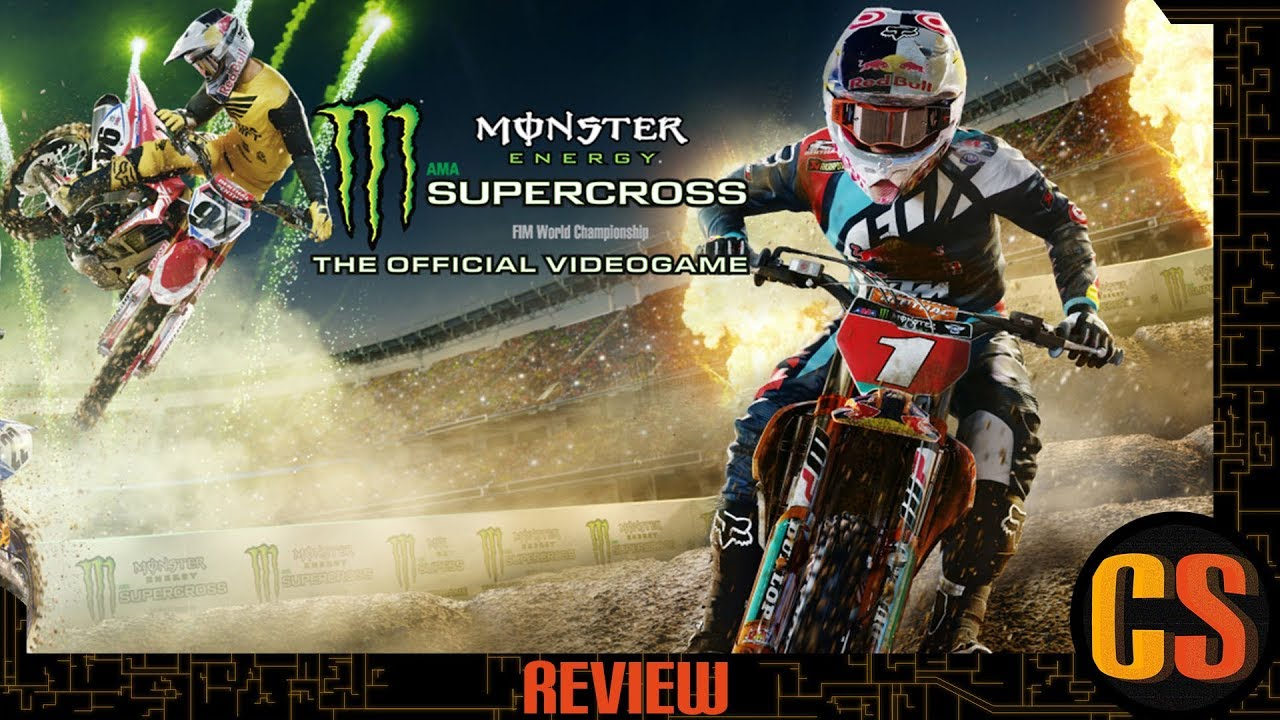 monster energy supercross the official game review. Black Bedroom Furniture Sets. Home Design Ideas