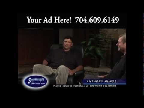 Anthony Munoz, HOF OT, Cincinnati Bengals on Sportsnight wit