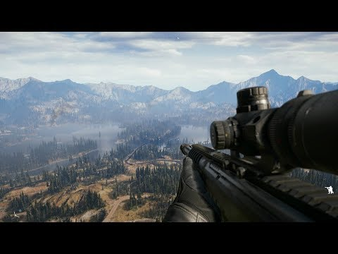 Very Beautiful Sniper Gameplay from Awesome FPS Game Far Cry 5