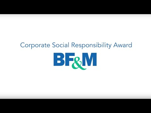 BF&M is the winner of the Bermuda Insurance Institute Corporate Social Responsibility Award
