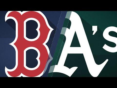 Manaea baffles Red Sox, tosses a no-hitter: 4/21/18