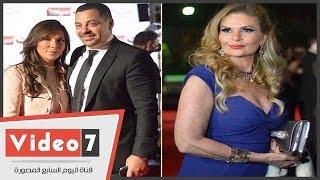 السجادة الحمراء تجمع يسرا ومنى زكى ودنيا وأصالة بحفل توزيع جوائز السينما العربية