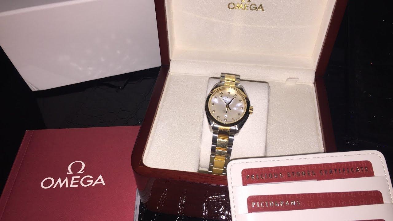 85666c73e7a8e Omega Seamaster Watch أكسيسوارات - ساعة اوميغا - YouTube