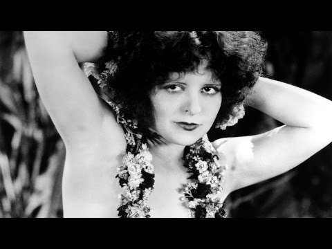 Clara Bow is dancing the Hula