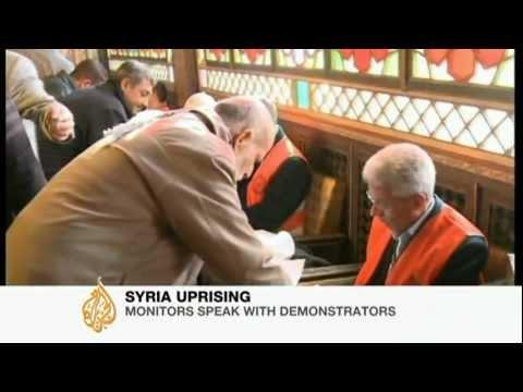 Arab observers accused of 'failing' Syria mission