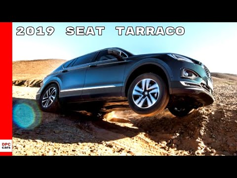 2019 SEAT Tarraco Off-Road On Sand