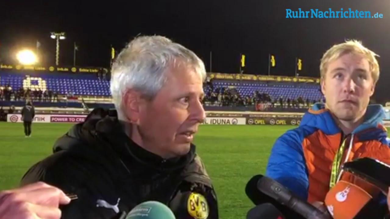 BVB-Trainer Favre über Marbella, Reus und Alcacer