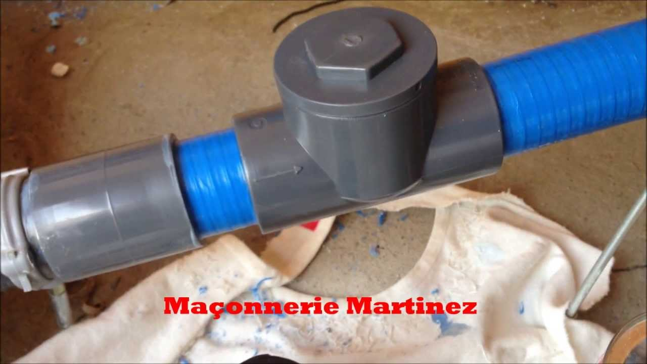 Comment poser un clapet anti retour pour piscine ma onnerie martinez youtube - Comment installer un groupe filtrant ...
