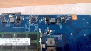 Ремонт системы питания ноутбука Acer 7736