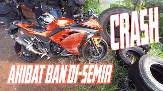crash triple vlog nio bandung goes to sirkuit peusar